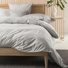 Grey Alexandra Cotton Quilt Cover Set