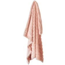 Chanel Faux Fur Throw