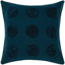 Teal Haze Cotton Cushion