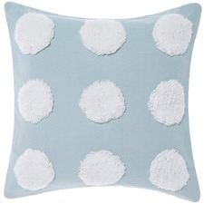 Blue & White Haze Cotton Cushion