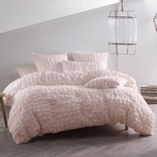 Pink Riverbank Quilt Cover Set