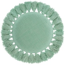 Round Florida Cotton Cushion
