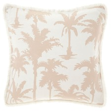 Ivory Luana Cotton European Pillowcase