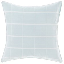 Aqua Leonard Cotton European Pillowcase