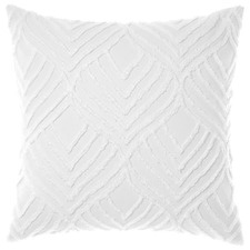White Palm Springs Cotton European Pillowcase