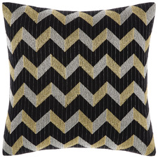 Chevron Filament Square Cushion