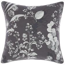 Botanical Print Laurina Cotton Cushion