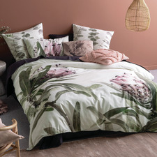 Dusty Rose Alice Cotton Quilt Cover Set