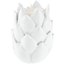 White Succulent Garden Ceramic Decor