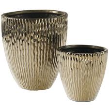 Bronze Olympia Ceramic Vase