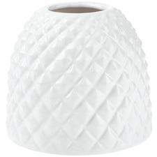 White Tropical Vase