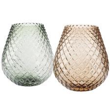 Bulb Glass Vase