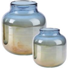 Castile Glass Vase