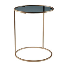Pewter Lui Side Table