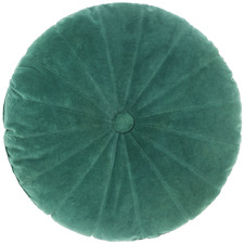 Emerald Hannah Round Cotton Cushion