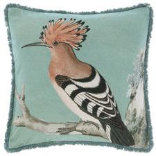 Olive Fresco Square Cotton Cushion