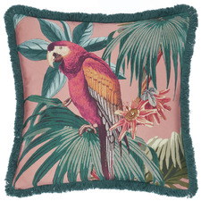 Teal Fernanda Cotton Cushion