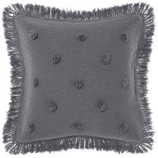 Charcoal Adalyn Cotton European Pillowcase