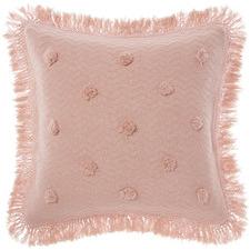 Peach Adalyn Cotton European Pillowcase