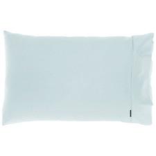 Pale Blue Augusta Cotton Standard Pillowcase
