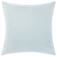 Pale Blue Augusta Cotton European Pillowcase