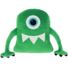 Green Collin Cyclops Novelty Cushion