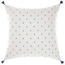 Blue Anika Cotton European Pillowcase
