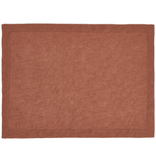 Rust Nimes Linen Placemat