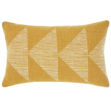 Geometric Pani Reversible Cotton Cushion