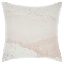 Sand Beachfront Cotton European Pillowcase