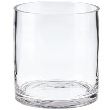 13cm Clear Solaire Glass Vase