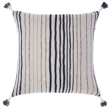 Indigo Nighttide Cotton Cushion