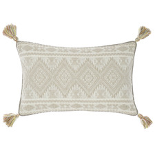 Taupe Fransisca Cotton Cushion