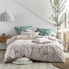 Sage Claude Cotton Quilt Cover Set