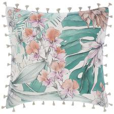 Mint Lorena Cotton European Pillowcase