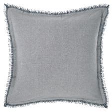 Blue Iliana Cotton European Pillowcase