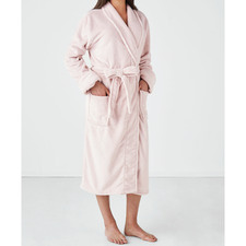 Plush Women's Bath Robe