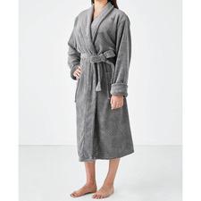 Plush Women's Bath Robe