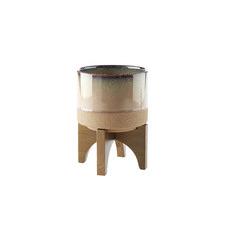 Splendor Stone Pot with Stand