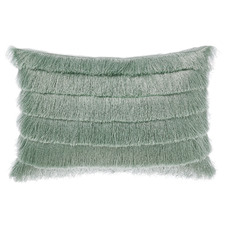 Green Anastacia Chai Cotton Cushion