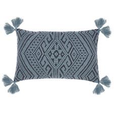 Rhubarb Vashti Cotton Cushion