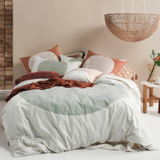 Stillwater Solar Cotton Quilt Cover Set