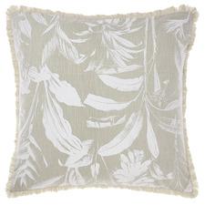 Teal Habitation Cotton European Pillowcase