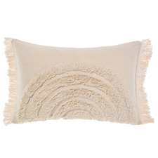 Tufted Daybreak Cotton Cushion