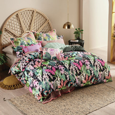 Multi-Coloured Jonie Cotton Quilt Cover Set
