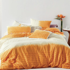Marigold Basque Cotton Quilt Cover Set