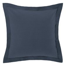 Bluestone Deluxe Waffle Cotton European Pillowcase