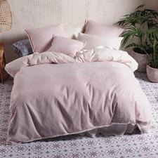 Blossom Lagos Cotton Jacquard Quilt Cover Set