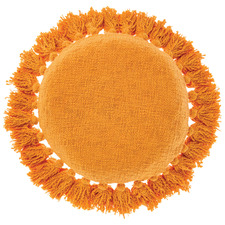 Florida Round Cotton Cushion