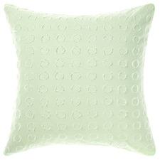 Benedita Mint Cotton European Pillowcase